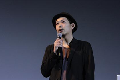 桜ノ雨初日舞台挨拶_ウエダ監督