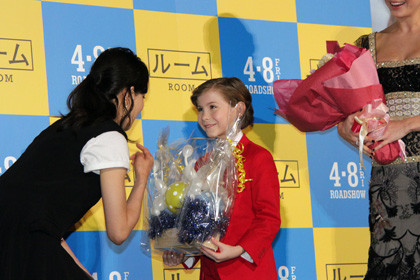 『ルーム』ジャパンプレミア_菅野風船