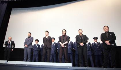 日本で一番悪い奴ら_完成披露舞台挨拶白石監督