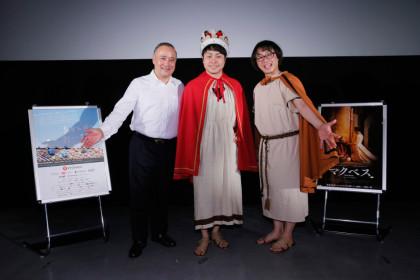 『マクベス』ノンスタ井上舞台挨拶2in沖縄国際映画祭