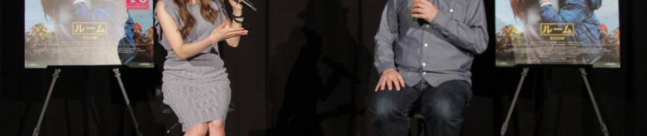子育て中の方も観て欲しい鈴木おさむ、益若つばさトークイベント映画『ルーム』