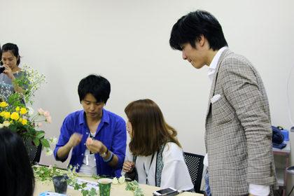 植物図鑑カップルワークショップ長井ジュン