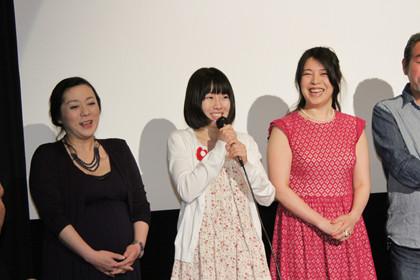 「華魂-幻影」初日舞台挨拶_稲生恵