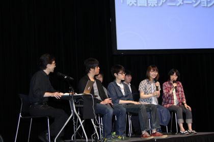 日本工学院×SKIPアニメCM-メイキングディスカス