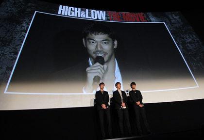 HiGH&LOW初日舞台挨拶AKIRA