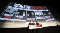 『HiGH&LOW THE MOVIE』初日舞台挨拶5大都市同時生中継
