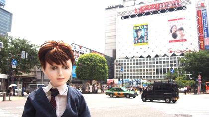 渋谷:交差点前