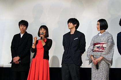 『花芯』初日舞台挨拶_毬谷友子