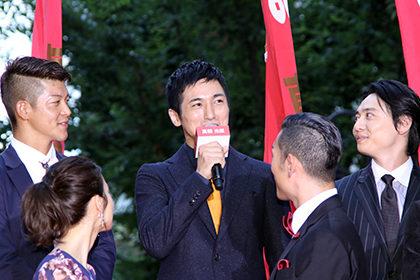 真田十勇士レッドカーペット高橋光臣