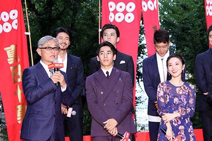 真田十勇士レッドカーペット堤監督