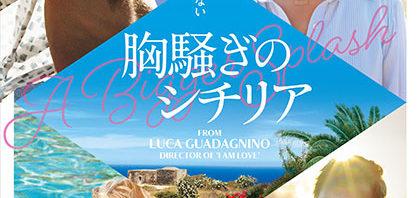 誘惑と嫉妬が交錯『胸騒ぎのシチリア』原題A Bigger Splash公開決定!