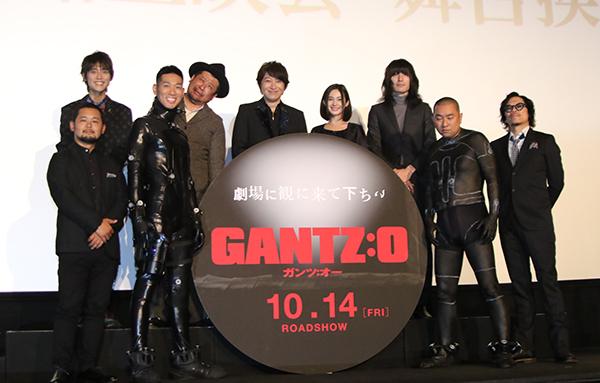 小野大輔、M・A・O 志磨遼平登壇『GANTZ:O』完成披露上映会舞台挨拶