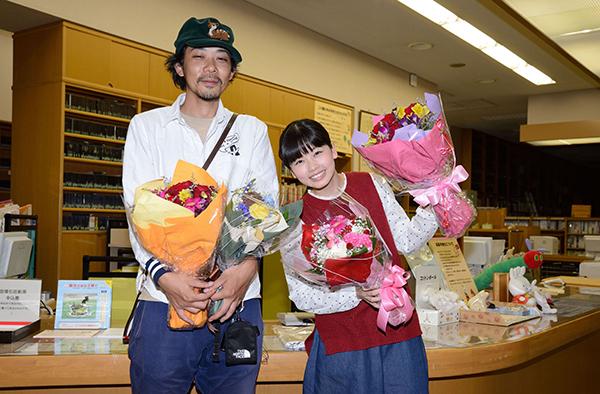 小芝風花『天使のいる図書館』が奈良県葛城の図書館でクランクアップ!