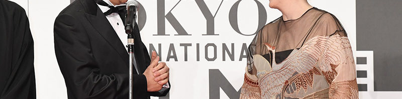 メリル・ストリープx安倍首相 初対面   TIFF 第29回東京国際映画祭