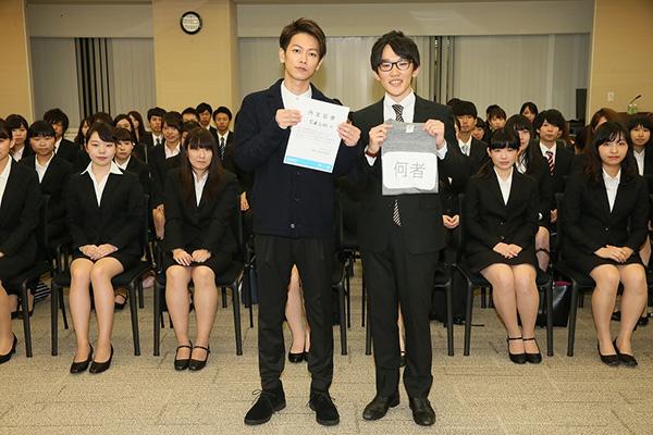 """佐藤健さんから""""内定通知""""映画「何者」学生限定試写会で!"""