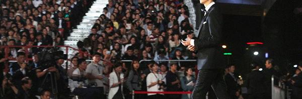 『シン・ゴジラ』長谷川博己が韓国釜山国際映画祭に上陸!