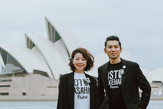 本木雅弘&西川美和監督『永い言い訳』オーストラリア日本映画祭ペアルック登場
