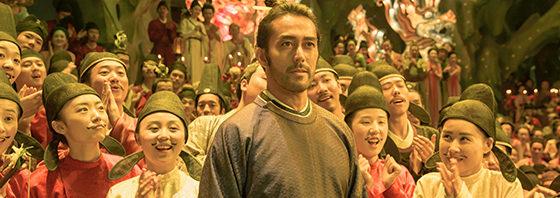 阿部寛が安倍仲麻呂役「空海―KU-KAI―」陳 凱歌監督、主演:染谷将太