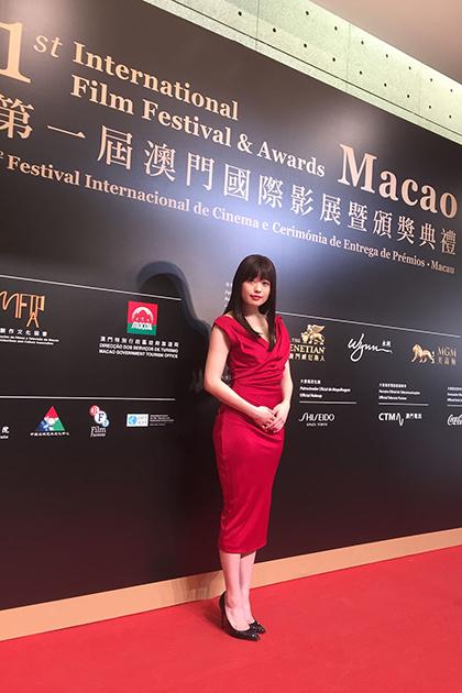 冨手麻妙 『ANTIPORNO』 で第1回 マカオ国際映画祭 へ