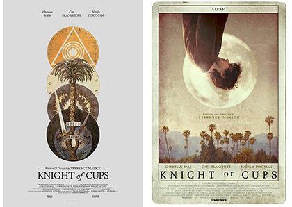 『聖杯たちの騎士』インターナショナル版、アメリカ版