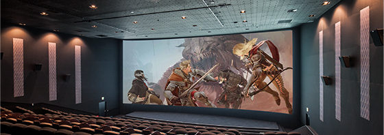 映画館大スクリーンでゲーム「黒い砂漠」対戦を!さばくしねま