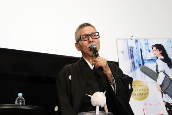 中島みゆき劇場版『一会』初日 瀬尾一三 プロデューサー トークイベント