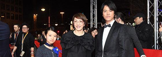 生田斗真、桐谷健太ベルリン国際映画祭に立つ!『彼らが本気で編むときは、』