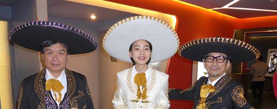 のん、片渕須直監督「本当に嬉しい」『この世界の片隅に』メキシコでも盛況!