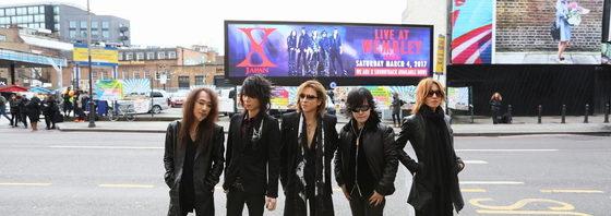 X JAPAN 英国ウェンブリー・アリーナ公演大成功!全23曲!
