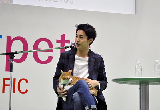 「ねこと僕。」ステージに映画『猫忍』大野拓朗&金時登壇!