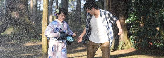 ふたりの気持ちが縮まるハプニング雨シーン映像『ReLIFE リライフ』