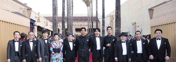 映画「たたら侍」ハリウッドプレミアに青柳翔、AKIRA、小林直己ら11名で参加!