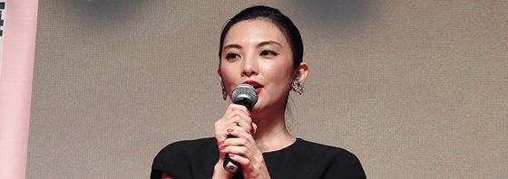 田中麗奈、流暢な中国語で舞台挨拶!『幼な子われらに生まれ』上海国際映画祭
