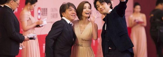 「昼顔」上戸彩,斎藤工の訪中に上海ファン大熱狂!上海国際映画祭