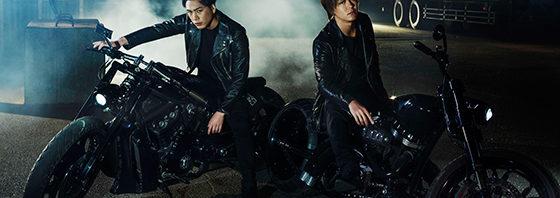 雨宮兄弟TAKAHIRO&登坂広臣の新ビジュアル『HiGH&LOW THE MOVIE 2』
