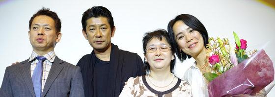 河瀬監督&永瀬正敏SPゲストに涙。映画『光』大ヒット御礼舞台挨拶