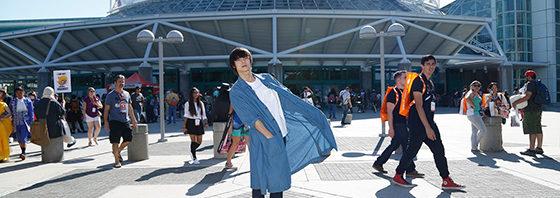 窪田正孝 参上!「東京喰種」LAワールドプレミア  @ANIME EXPO
