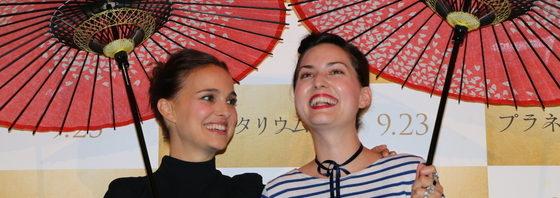 ナタリー・ポートマン来日『プラネタリウム』ジャパンプレミア