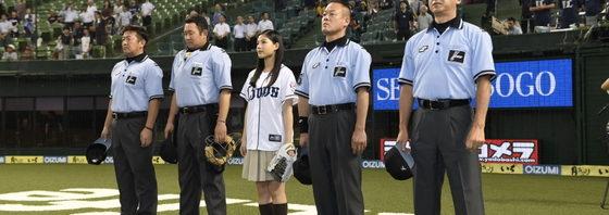 石井杏奈 19歳の誕生日に始球式!『心が叫びたがってるんだ。』