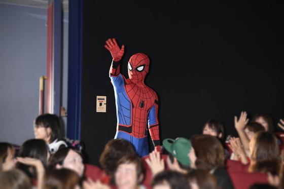 関ジャニ∞(渋谷すばる、安田章大、大倉忠義)スパイダーマンと初対面!
