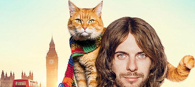 映画『ボブという名の猫 幸せのハイタッチ』メイキング映像が解禁