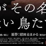 不快度100%『彼女がその名を知らない鳥たち』第42回トロント国際映画祭 出品決定!!