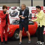西川貴教 カミナリ新ネタ披露にビリビリ辛口批評『スクランブル』公開直前イベント