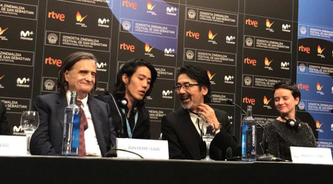 諏訪敦彦監督『ライオンは今夜死ぬ』ワールドプレミア サン・セバスチャン国際映画祭