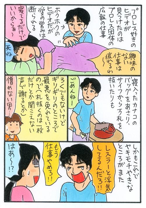 『リングサイド・ストーリー』倉田真由美コメント漫画
