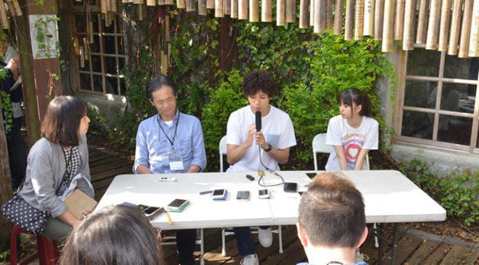 山田裕貴、齋藤飛鳥 台湾で記者会見『あの頃、君を追いかけた』