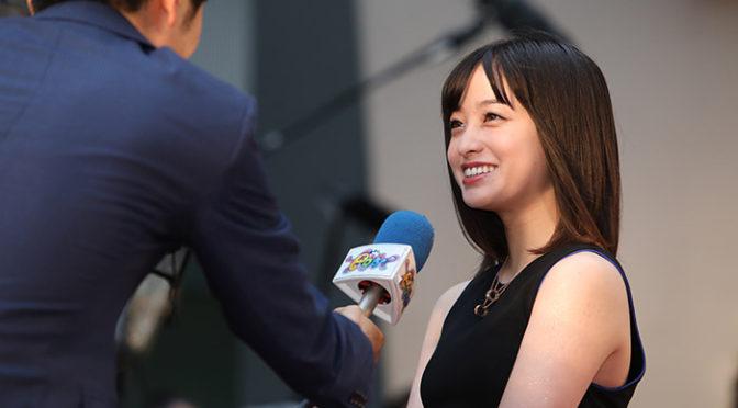 アンバサダーの橋本環奈ら華やかに第30回東京国際映画祭TIFFレッドカーペット
