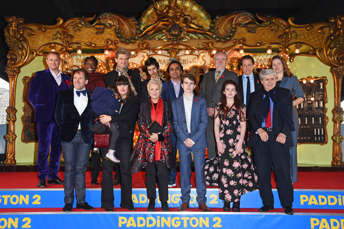 ヒュー・グラント、ベン・ウィショーらロンドンで『パディントン2』ワールドプレミア