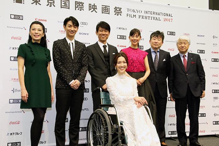 原田泰三主演『ミッドナイト・バス』舞台挨拶&記者会見@東京国際映画祭