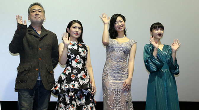 森口彩乃、佐々木心音、山田愛奈 登壇『最低。』で最高の答えをしたのは
